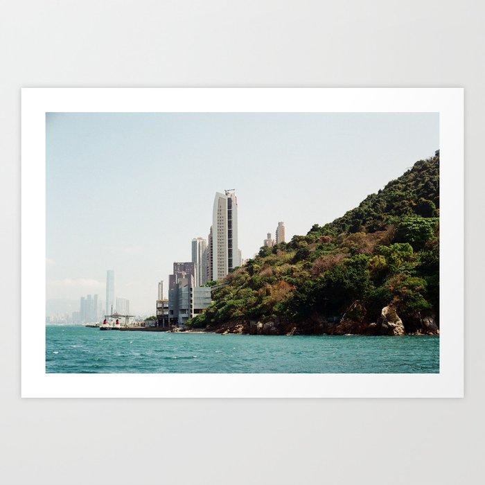 Hong Kong Syline  Art Print