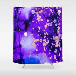 Ink no5 Shower Curtain