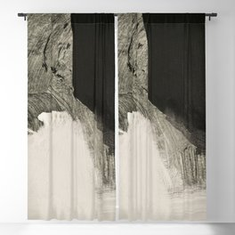 minimalist painting 05-01 Blackout Curtain