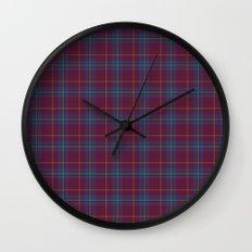 Da Vinci Rosslyn Rose Tartan Wall Clock