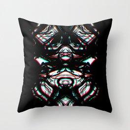 Darken Night Throw Pillow