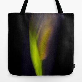 Abstract Bristle Grass-Fleur Blur Series Tote Bag