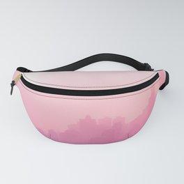 Pink City Skyline Fanny Pack
