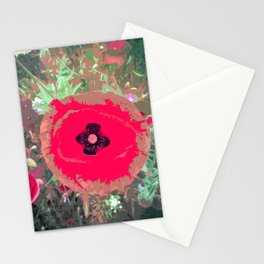 Lest We Forget Poppy Stationery Cards