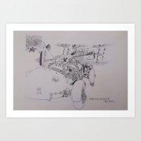 Biggin Hill Air Fair  Art Print