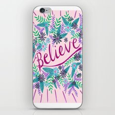 Believe! - Pink iPhone & iPod Skin