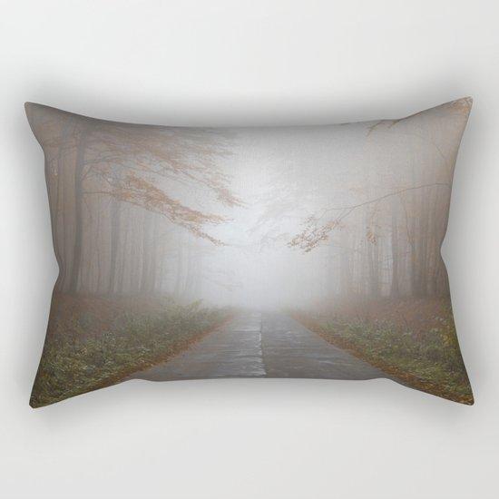 Forest Walk #fog Rectangular Pillow