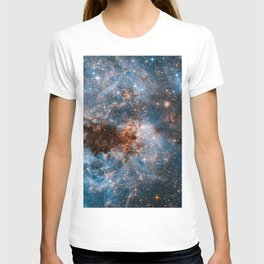 Into The Storm, Galaxy Background, Universe Large Print, Space Wall Art Decor, Deep Space Poster T-shirt