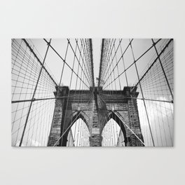 Follow These Lines Canvas Print