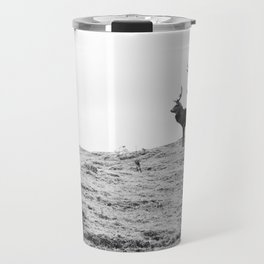 Stags on the hill Travel Mug