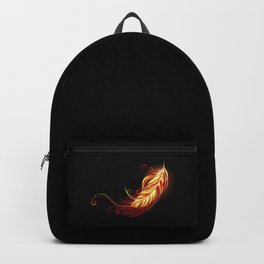 Flaming Feather Phoenix Backpack