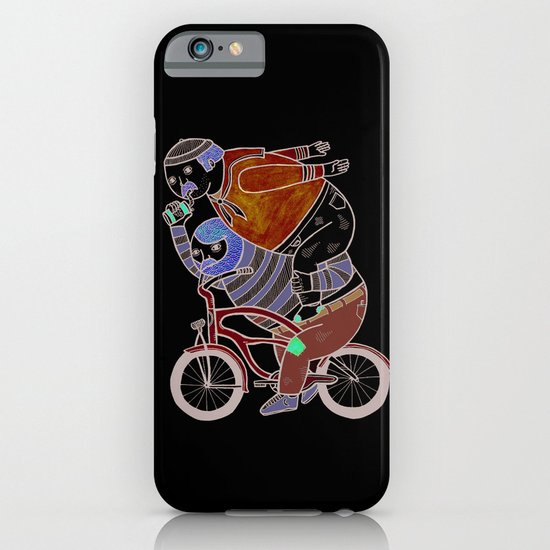 On how bicycle riders utilize team work in certain situations. iPhone & iPod Case