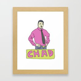 chad Framed Art Print