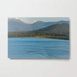 Lake Tahoe Water Skier Metal Print