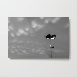 Light up the cotton balls in the sky Metal Print