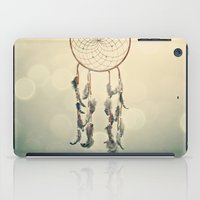 dreamcatcher iPad Cases featuring Dreamcatcher  by Laura Ruth