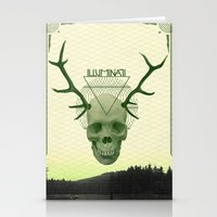 illuminati Stationery Cards featuring IlluminatI by Tommy Cash