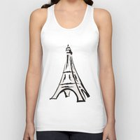 french Tank Tops featuring French by jssj