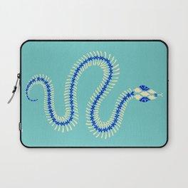 Snake Skeleton – Blue & Cream Laptop Sleeve