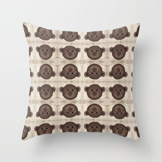A lot of Bears Throw Pillow
