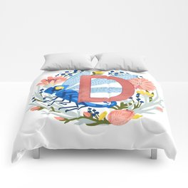 D is for Dragonfly Comforters