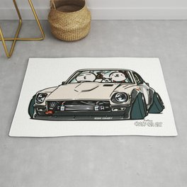 Crazy Car Art 0155 Rug