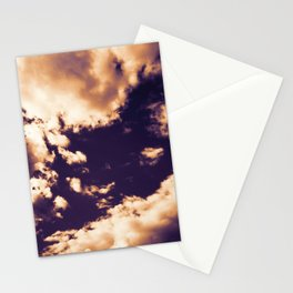 cloudy sky 3 ls Stationery Cards