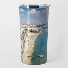 Larnaca Finikoudes Coast Travel Mug