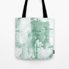 Dark sea green vague watercolor Tote Bag