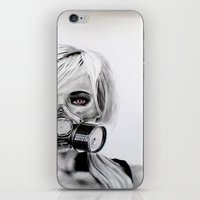 fallout iPhone & iPod Skins featuring The Fallout by JKNIGHTART