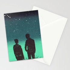 Awestruck Night Stationery Cards