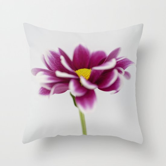 Chrysanth Throw Pillow