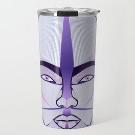 purple geisha Travel Mug