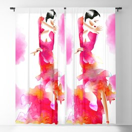 Flamenco Blackout Curtain