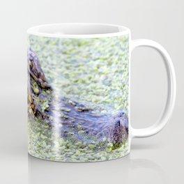 Watercolor Alligator 21, Ichetucknee Springs, Florida Coffee Mug