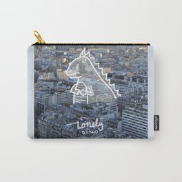 Lonely Dino - in Paris Carry-All Pouch