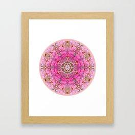 Lotus Explotiv Framed Art Print