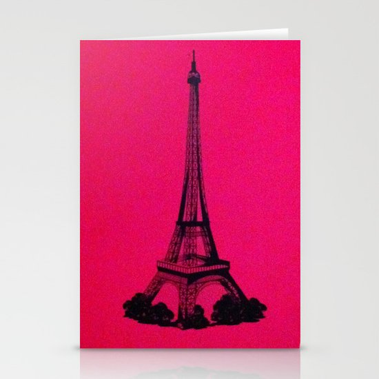 Eiffel  Stationery Cards