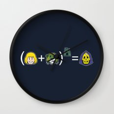 He-Math Wall Clock