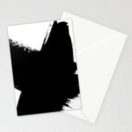 Monochrome Ink 03 Stationery Cards
