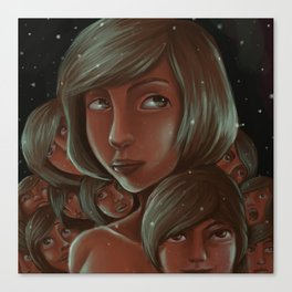 Faces of Anise Canvas Print
