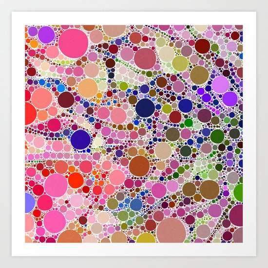 Bubble Fun 02 Art Print