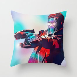 Star Lord, Guardians of the Galaxy, TheAvengers Throw Pillow