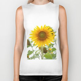 Sunflower #1 #decor #art #society6 Biker Tank