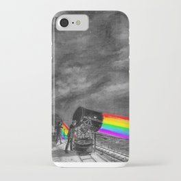 Turn the spotlight on, send the colors iPhone Case