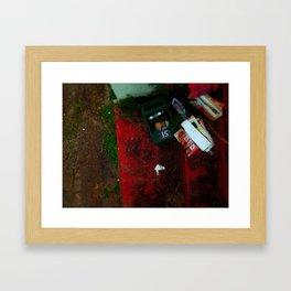 no advertising material. Framed Art Print