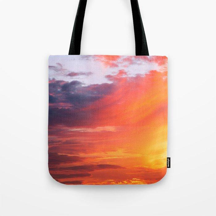 Alternate Sunset Dimensions Tote Bag