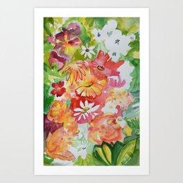 Flower Riot Art Print