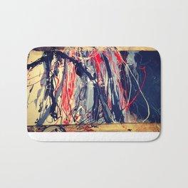 Blue_Red_In Process Bath Mat