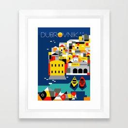 Glory to Yugoslavian design Framed Art Print